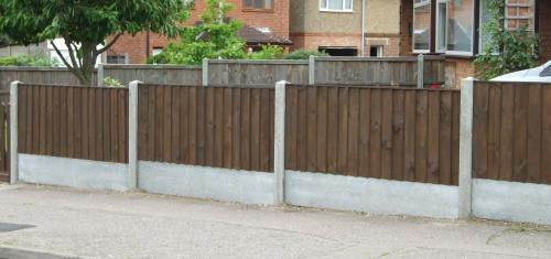 Perimeter fence example